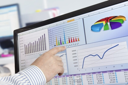 simple business dashboard